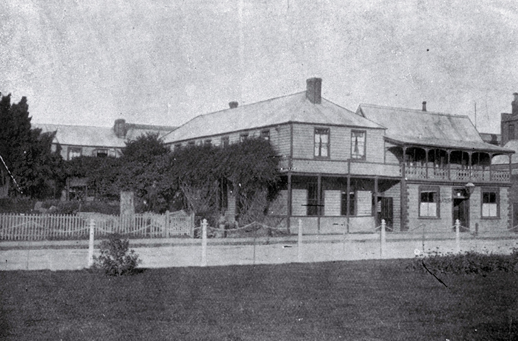 Clarendon Hotel, Oxford Terrace, Christchurch