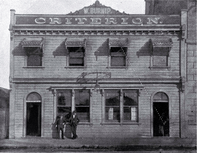 Criterion Hotel, Gloucester Street, Christchurch