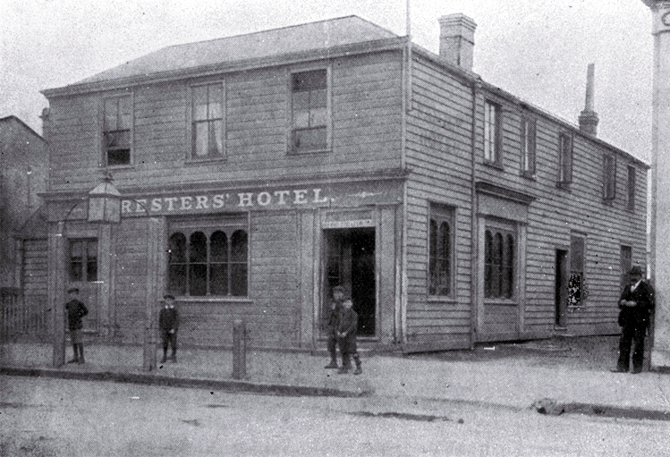 Foresters' Hotel, Oxford Terrace, Christchurch