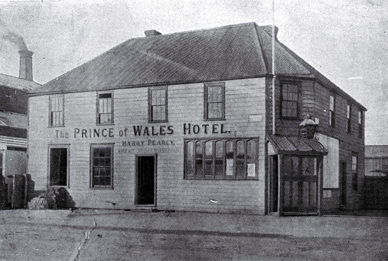 Prince of Wales Hotel, corner of Colombo and St. Asaph Streets, Christchurch