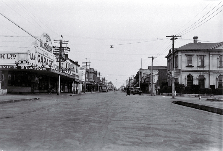 Looking west down High Street, Rangiora