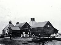 Chicory kilns on Jones Road, Templeton [ca. 1892]