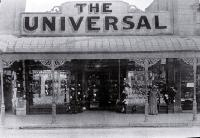 The Universal, advertised as the most up-to-date establishment in Christchurch [189-?]