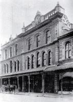 The Colombo Street frontage of Mr Edward Reece and Sons' hardware establishment, wholesale and retail