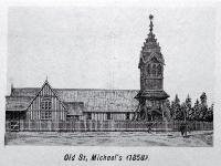 Old St. Michael's Church, corner of Oxford Terrace and Lichfield Street [ca.1861]