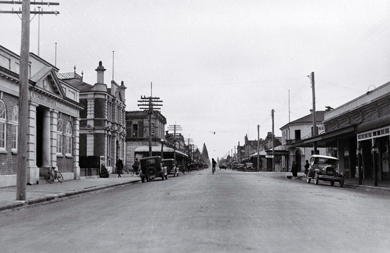 Little has changed in King Street, Temuka