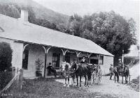 The second Waiau Ferry Hotel established in 1872, which was replaced in 1905 [187-]