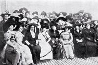 At the reception of Mrs and Miss Seddon by the Women's Social and Political League, Wellington