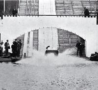 New Zealand International Exhibition 1906-1907 : sequence of going down the water chute. [1906]