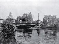 Supreme Court and Victoria Street bridge, Christchurch [ca. 1921]