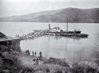 Steamer at Port Levy [ca. 1921]