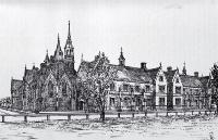 Normal School, Cranmer Square, Christchurch [ca. 1885]