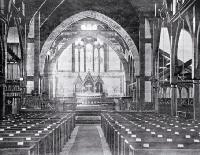 Interior of St. Michael's and All Angels, Christchurch, ca. 1923