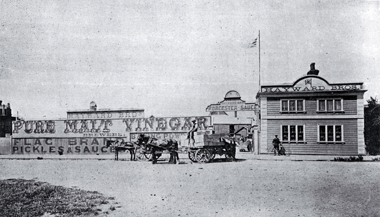 Hayward Brothers, corner of Victoria and Peterborough Streets, Christchurch