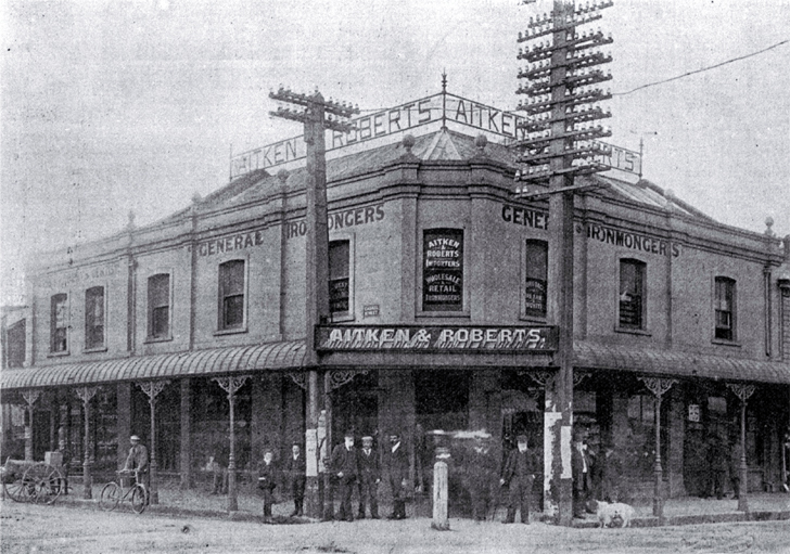 Aitken & Roberts, corner of Colombo and Lichfield Streets, Christchurch