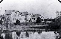 Christchurch Hospital, Riccarton Avenue, Christchurch - 1872