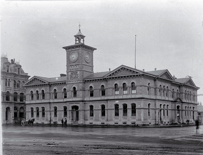 Christchurch Chief Post Office, Cathedral Square
