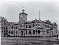 Christchurch Chief Post Office, Cathedral Square, 1900