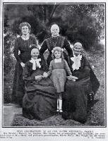 Five generations of an old Banks Peninsula family, the Wrights