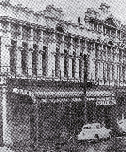 Mrs Hucks' Theatre Royal Café