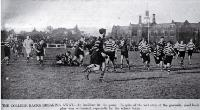 Christ's College versus Christchurch Boys' High School: shown in the annual School-College rugby match. [17 July 1940]