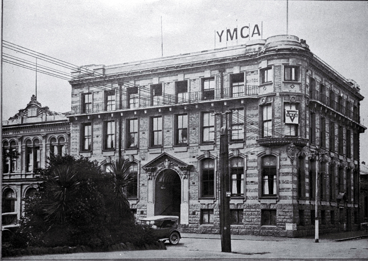 YMCA, corner of Cambridge Terrace and Hereford Street, Christchurch