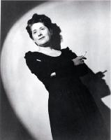 "Ngaio Marsh photographed during the 1940s : ""Ngaio in the spotlight"""
