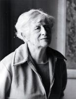 Ngaio Marsh in old age, one of the last to be taken of her