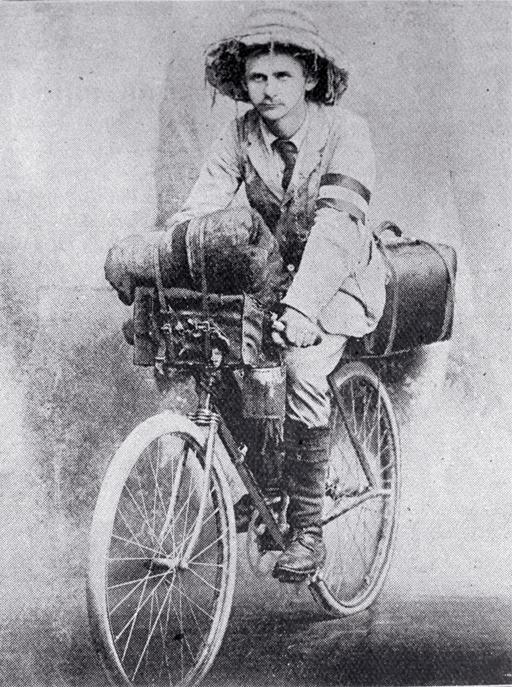 Mr W. Schwiegerhausen, cyclist [1903]