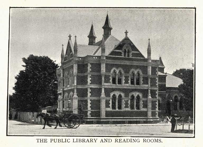 The Public Library and Reading Rooms