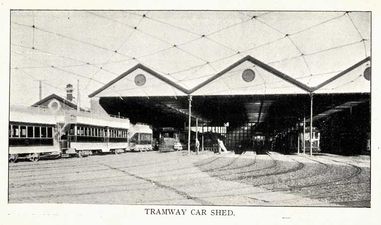 Tramway Car Shed