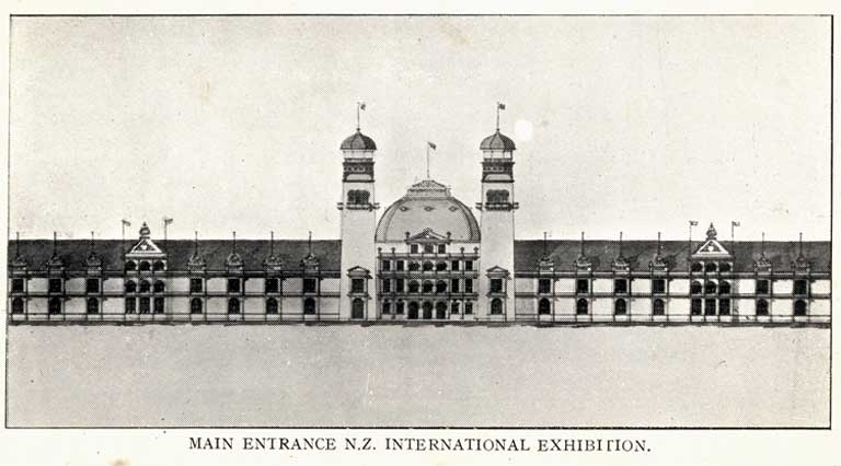 Main Entrance N.Z. International Exhibition