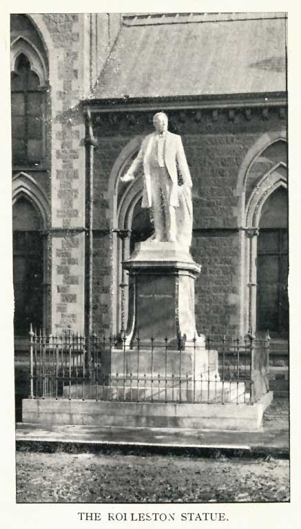 The Rolleston Statue