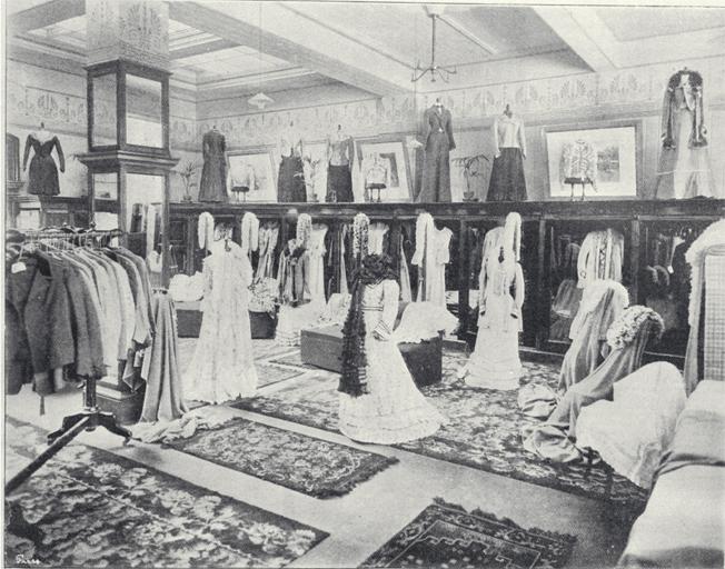 The mantle show room, Ballantynes, Cashel Street, Christchurch [1901] CCL PhotoCD 2, IMG0069