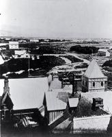 View of Christchurch to the west from the tower of the Provincial Government Buildings