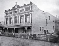 Exterior view of the Theatre Royal, Christchurch, prior to opening - 1907