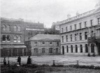 The Lyttelton Times' old premises ca. 1885