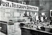 Exhibits of telegraphic apparatus