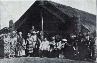 A group of South Sea Islanders and Maoris