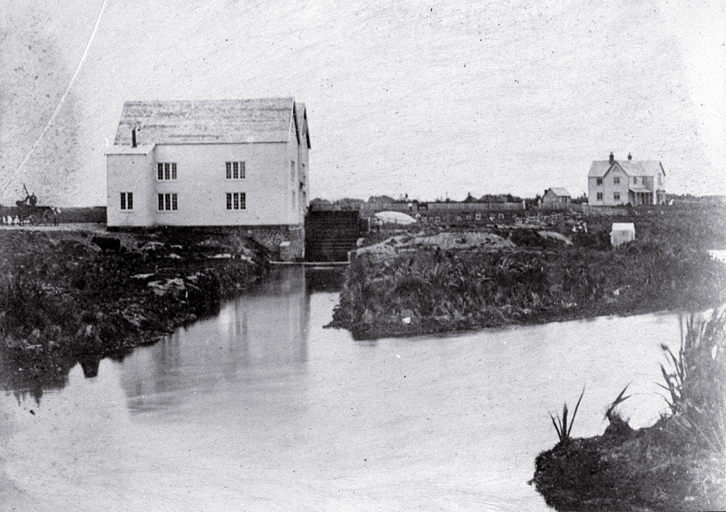 Woods Riccarton Mill in 1862