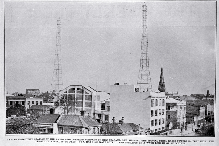 3YA Christchurch Station of the Radio Broadcasting Company of New Zealand