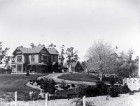 House and stables in Innes Road, St Albans, Christchurch, ca 1900