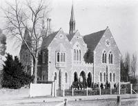 Photograph of Boys' High School, Worcester Street, Christchurch