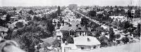Half of a panorama of Merivale and St Albans, Christchurch, 1922