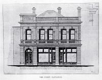 The front elevation of Tattersall's Hotel, Cashel Street, Christchurch [1900]