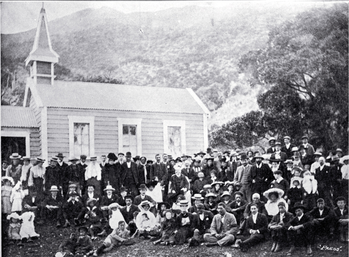 Opening of the Roman Catholic church at Oaro, Hundalee