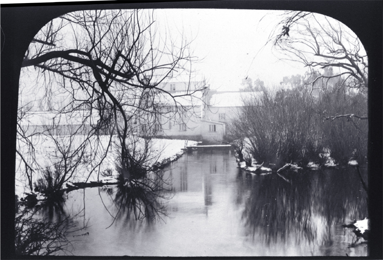 Riccarton Mill in a snowy July 1895 [1895], CCL PhotoCD 4, IMG0018