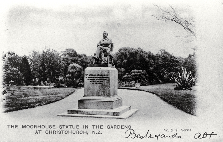 William Sefton Moorhouse Statue, 190?