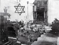Interior of Beth El Synagogue, Christchurch, 1906