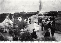 Rotorua at the New Zealand International Exhibition 1906/7, Hagley Park, Christchurch